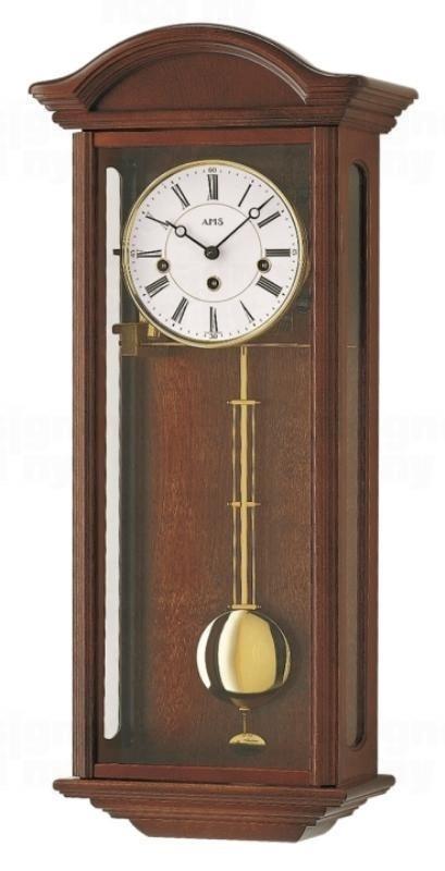 Kyvadlové mechanické nástěnné hodiny 2606/1 AMS 64cm