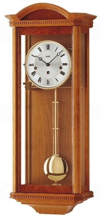 Kyvadlové mechanické nástěnné hodiny 2663/9 AMS 66cm