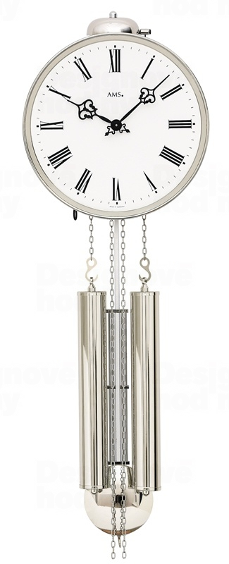 Luxusní kyvadlové mechanické nástěnné hodiny 342 AMS