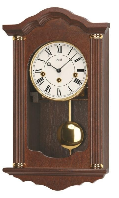Kyvadlové mechanické nástěnné hodiny 624/4 AMS 45cm