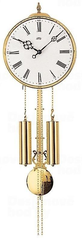 Luxusní kyvadlové mechanické nástěnné hodiny 348 AMS