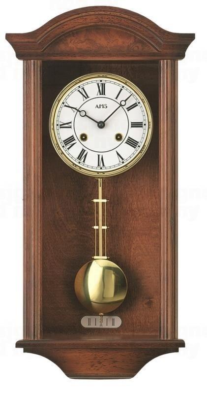 Kyvadlové mechanické nástěnné hodiny 614/1 AMS 53cm